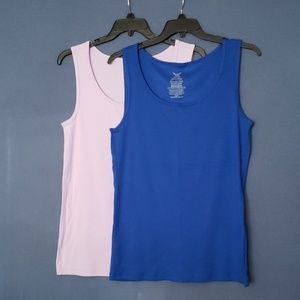 Set of 2 Faded Glory Tank Tops